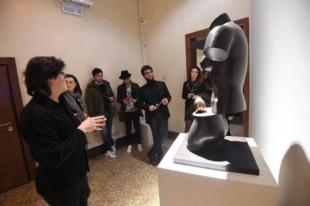 Una delle sale di Dalì Experience a Palazzo Belloni (Foto Schicchi)