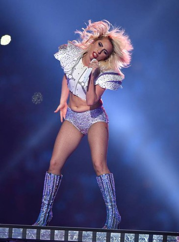 Lady Gaga al Super Bowl (LaPresse)
