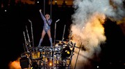 Lady Gaga al Super Bowl (LaPresse)