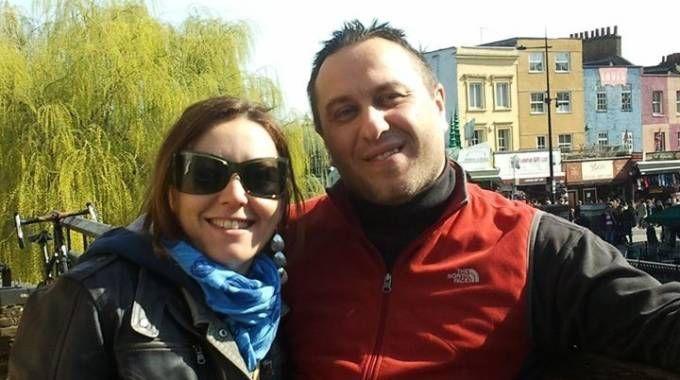 Cristian Provvisionato con la compagna Alessandra Gullo
