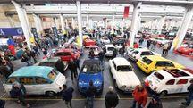 La 35/a Edizione di Automotoretro' allestita presso il Lingotto, Torino