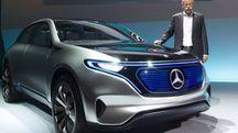 EQ concept, il suv sportivo targato Mercedes