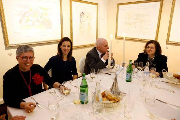 Manuela Verardi, Camilla Bergonzoni, Marco Spinedi e Lucia Gazzotti (Schicchi)