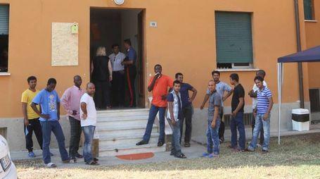 Uno dei centri di accoglienza già funzionanti nell'Imolese