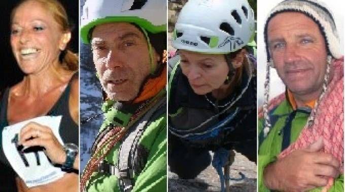 Da sinistra Antonella Gallo, Fabrizio Recchia, Antonella Gerini, Mauro Franceschini