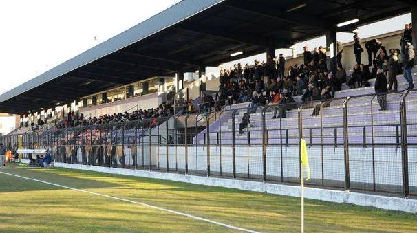 Lo stadio Mari di Legnano