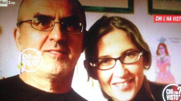 Un fermo immagine della trasmissione «Chi l'ha Visto?» che ha dedicato ampio spazio al caso di Monciatti