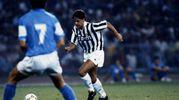 1 settembre 1990: l'esordio in maglia bianconera nella Supercoppa italiana persa 5-1 contro il Napoli di Maradona (Olycom)
