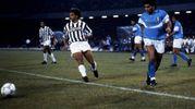 Con Maradona durante la Supercoppa italiana del 1990: la Juve di Maifredi perde 5-1 e quell'anno finirà fuori dai piazzamenti europei (Olycom)