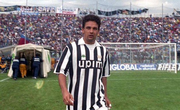 Con la Juve, Baggio vince 1 scudetto nel '94-'95, 1 Coppa Uefa ('92-'93) e 1 Coppa Italia nel '94-'95 (Ansa)