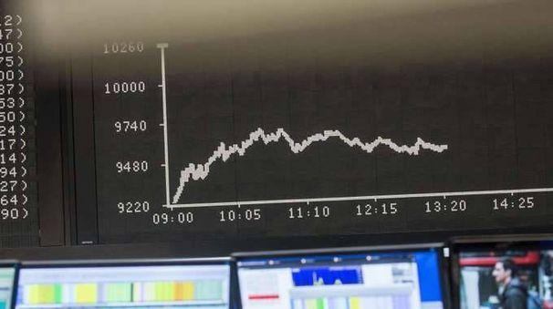 Borsa: Europa in calo dopo Wall Street