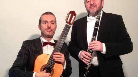 Il duo di musicisti