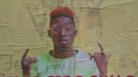 Il manifesto del concerto del rapper Bello Figo