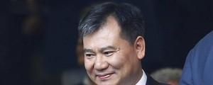 Il presidente del gruppo Suning, Zhang Jindong