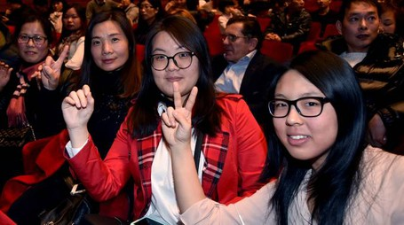 Forlì, capodanno cinese al teatro 'Fabbri (foto Fantini)