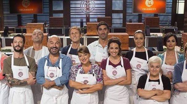 Il cast di CelebrityMasterChef Italia