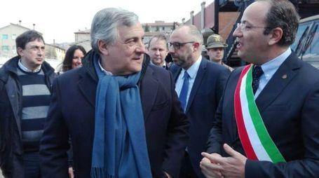 Tajani con Pasqui