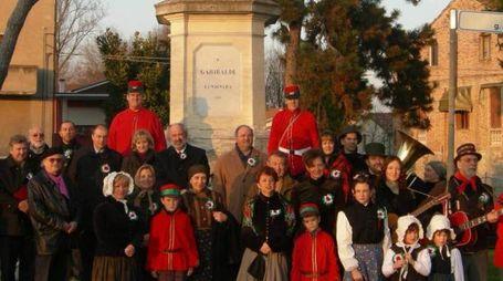 Lendinara, l'omaggio a Garibaldi