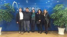 Parte della delegazione di Cartoon Italia in Cina