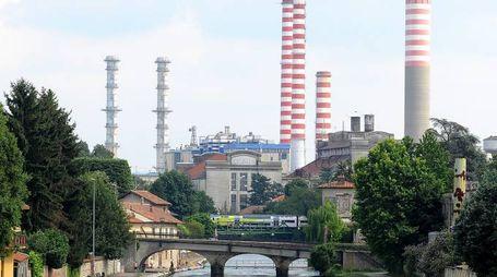 La centrale termoelettrica di Turbigo