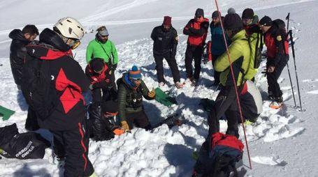 L'esercitazione del Soccorso Alpino dell'Emilia Romagna al Cimone