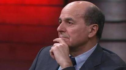 Pier Luigi Bersani su La7 (Ansa)