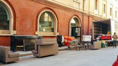 Porto San Giorgio, chiude il bar Novecento (foto Zeppilli)