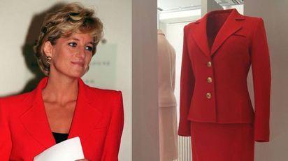 Londra, abiti di Lady Diana in mostra