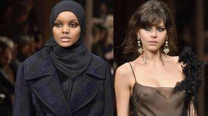 Alberta Ferretti, in passerella l'hijab e l'effetto trasparenze