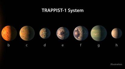 Nasa, scoperto un nuovo sistema di pianeti (foto Afp)