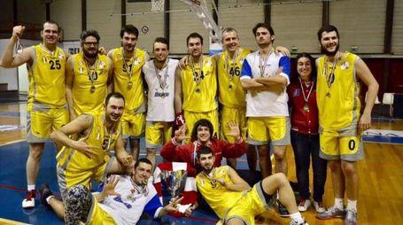 La squadra dell'Asd Sordi Pesaro vincitrice della Coppa Italia 2017
