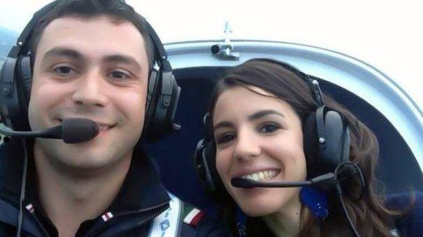 Claudio Grigoletto con Marilia Silva Rodrigues Martins