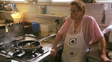 La Dina in cucina