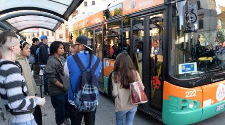 La fermata del bus