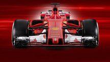 F1, la nuova Ferrari SF 70 H