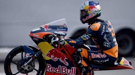Moto3, il campione del mondo sudafricano Brad Binder