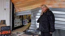 Francesca Genovese proprietaria della tabaccheria (foto Schicchi)