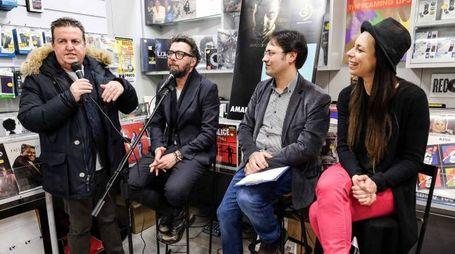 Amara e Paolo Vallesi incontrano il pubblico (Giuseppe Cabras/NewPressPhoto)