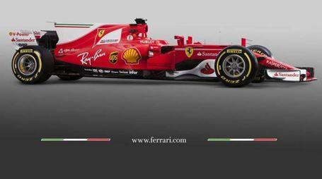 Ferrari, la nuova monoposto del 2017 (Ansa)