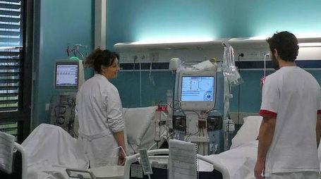 Il centro dialitico dell'ospedale di Pistoia