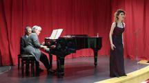 Un momento del concerto in onore di Gilberto Calcagnini (Fotoprint)