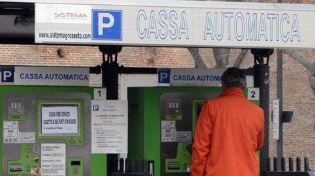 Le casse automatiche del parcheggio di Porta Corsica svaligiate di recente