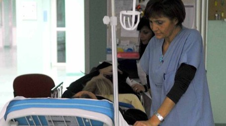 La donna si è rivolta alla guardia medica e al pronto soccorso dell'ospedale Bufalini (Bp)