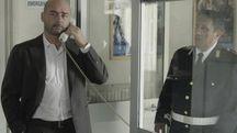 Una foto di scena de 'Il commissario Montalbano' (Ansa)
