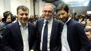 Arturo Scotto, Enrico Rossi, Roberto Speranza (Lapresse)