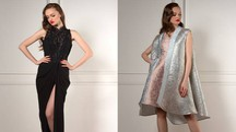 Due modelli di Raffaella Curiel