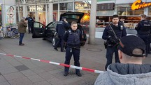 Auto lanciata sulla folla in Germania (Afp)