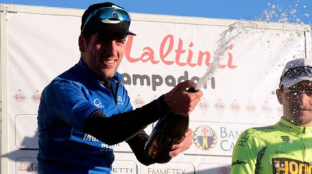 Firenze-Empoli, il vincitore Gabriele Bonechi (foto Gianni Nucci/Germogli)