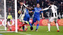 Juventus-Empoli, il gol di Mandzukic