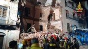Esplosione a Catania, crolla una palazzina